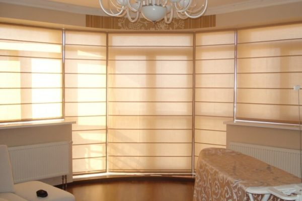 Condo-Motorized-Roman-Blinds-in-Toronto1